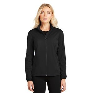 Port Authority® Ladies' Active Full-Zip Soft Shell Jacket