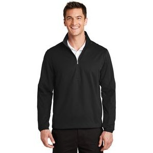 Port Authority® Men's Active 1/2-Zip Soft Shell Jacket