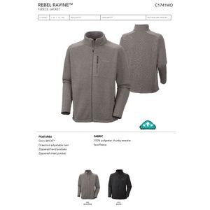Columbia Omni-Wick Rebel Ravine Full Zip Jacket -Blank