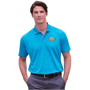 Vansport Omega Solid Mesh Tech Polo Shirt