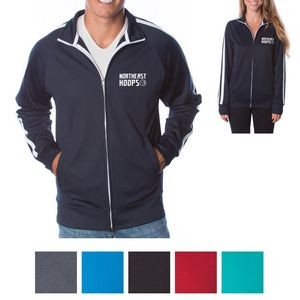 Independent Trading Company Unisex Lightweight Poly-Tech Track Jacket