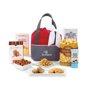 Dover Delights Snack Pack Cooler - Red