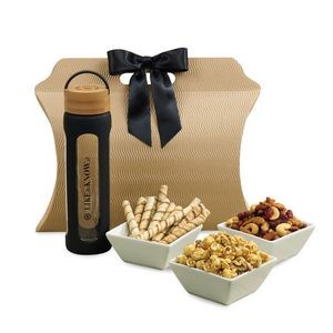 Bali Retreat & Relax Treats Tote - Natural-Black