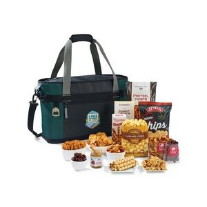 Dumont Team Celebration Gourmet Cooler - Deep Forest Green