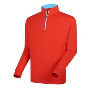 FootJoy® Performance 1/2 Zip Pullover w/Gathered Waist (Scarlet)