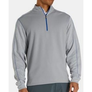 FootJoy® Tonal Heather Mid Layer Pullover (Grey)