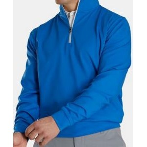 FootJoy® Performance 1/2 Zip Pullover w/Gathered Waist (Royal)