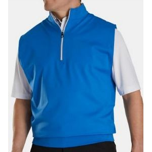 FootJoy® Performance Half-Zip Pullover Vest w/Gathered Waist (Royal)