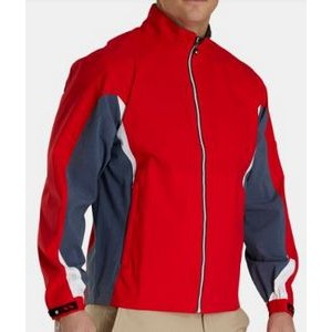 FootJoy® HydroLite™ Rain Jacket (Red+Heather Red/White)