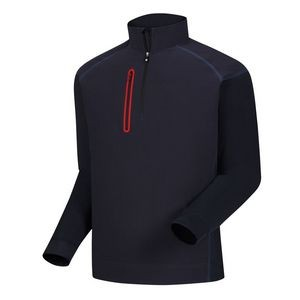 FootJoy® Wind Tech Pullover (Navy+Red)