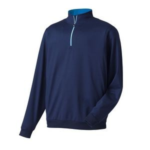 FootJoy® Performance 1/2 Zip Pullover w/Gathered Waist (Navy)