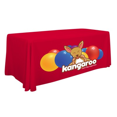 6' Standard Table Throw (Full-Color Front Only)